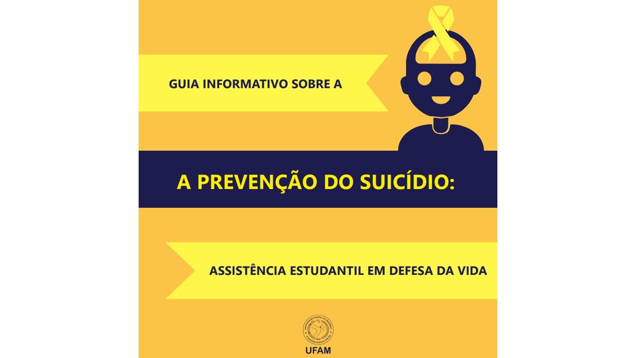 GUIA DE PREVENÇÃO DO SUICÍDIO