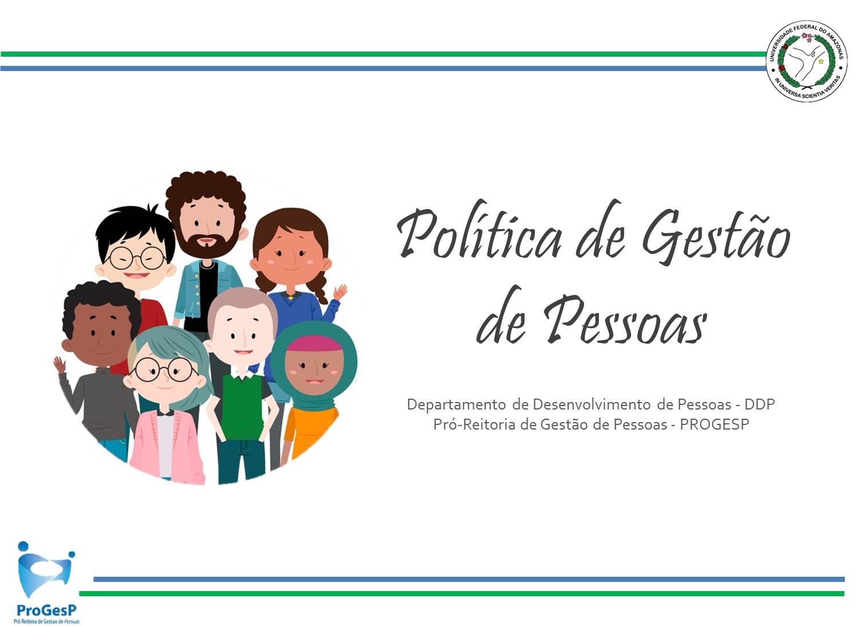 Política de Gestão de Pessoas