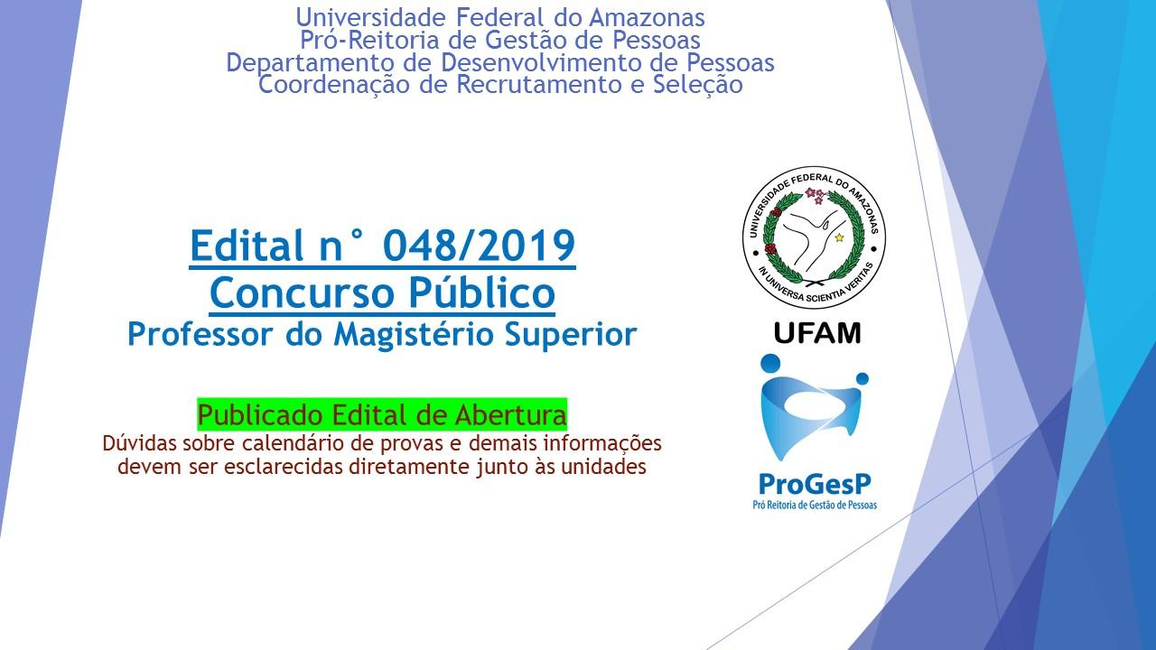 Concurso Público para docentes